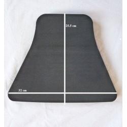 Mousse selle monoplace 12 mm