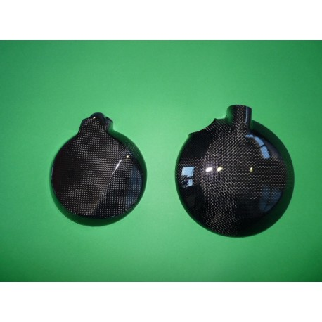 kawasaki ZX 6 01-02 Protecteur droit en carbone