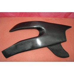 Yamaha R6 06-07 Protecteur bras osillant carbone