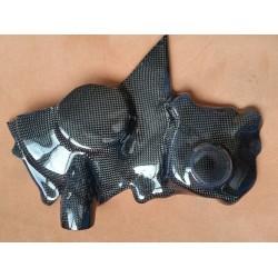 Yamaha R1 2015 Protecteur moteur droit carbone