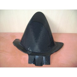 Honda CBR 600 07-10 Reinforced carbon rear hugger competition